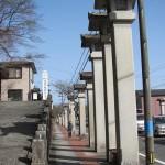 宇治橋前ロータリー近くの石灯篭