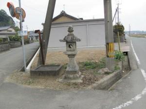 棒原神社への分岐