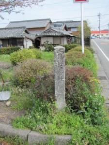 ちびき神社への道標?
