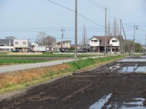 小社神社から田丸駅への途中、県道13号線を横断する手前