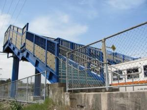 田丸駅の跨線橋