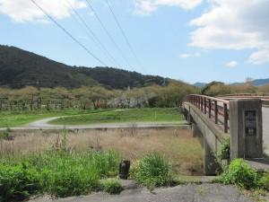 御側橋付近