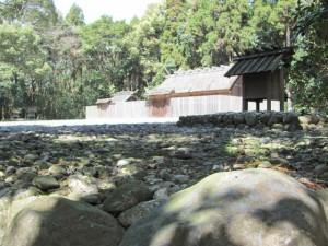 C097 神服織機殿神社 (かんはとりはたどのじんじゃ) 皇大神宮 所管社