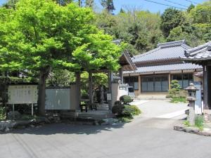 江神社への途中(高泉庵)