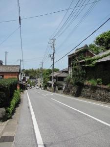 間の山(下り)