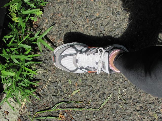 ジョギング開始