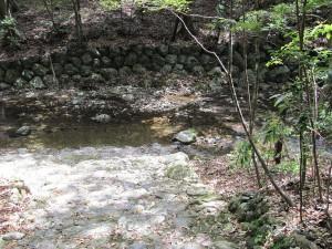 瀧原宮(御手洗場への下りの石段)