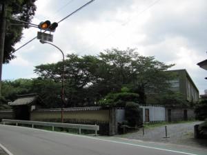 伊勢市立郷土資料館(裏側から)