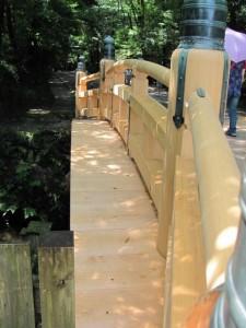 北御門参道の火除橋