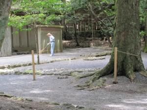 祓所(忌火屋殿の前庭)