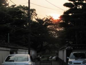 朝日(おはらい町通り)