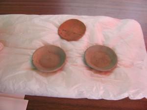 山皿2枚と土師器 小皿