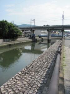 小田橋から上流方向