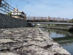 小田橋から下流方向