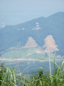 八大龍王社からの眺望