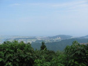朝熊峠からの眺望