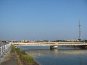 第二湊橋を望む
