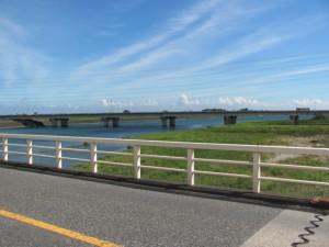 豊浜大橋から伊勢湾方面