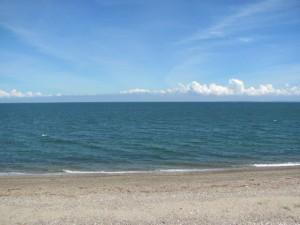豊浜漁港から伊勢湾