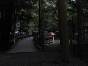 風日祈宮橋の仮橋