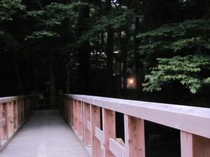 仮橋から風日祈宮