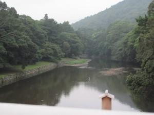 宇治橋からの五十鈴川