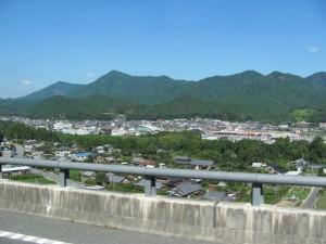 紀勢自動車道(観光バス車内から)