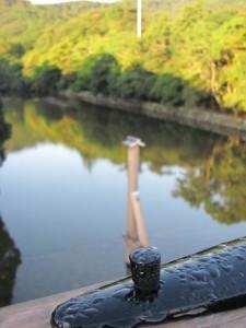 風日祈宮橋渡始式当日の早朝