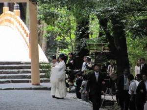 風日祈宮橋 渡始式