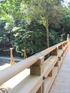 風日祈宮橋 渡始式の翌日