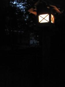 北御門参道から忌火屋殿