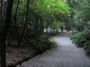 下御井神社から土宮へ