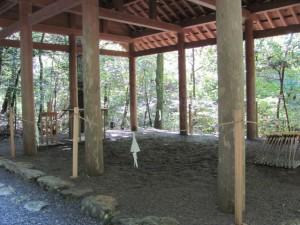 瀧原宮の祓所