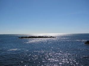 太平洋(国崎漁港から鎧崎へ向かう途中)