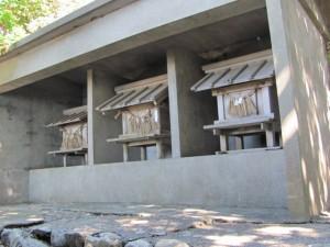 神宮御料鰒調製所の左手