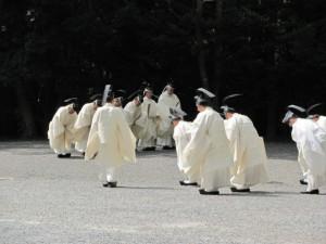 神御衣祭(第一鳥居内祓所)