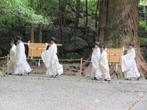 神御衣祭(荒祭宮へ)