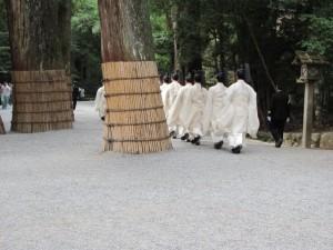 神御衣祭(御正宮から荒祭宮へ)