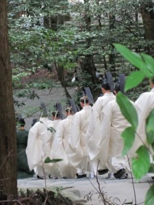 神嘗祭 奉幣の儀 (参進、荒祭宮へ)