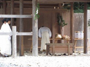 瀧原宮 秋の御祭準備 儀式の予行