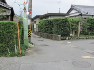 御塩道(右折)