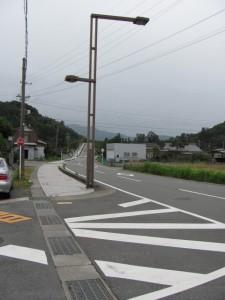 御塩道(左、光の街へ)