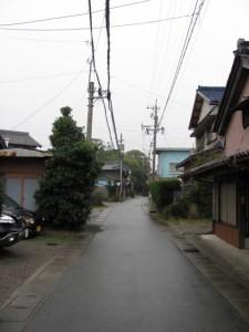 御塩道(橘神社へ)