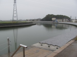 御塩道(川の駅 二軒茶屋から五十鈴川)