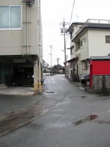 御塩道(清浄坊橋へ)