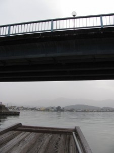 木造船みずき (勢田川防潮水門)