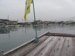木造船みずき (一色町付近)
