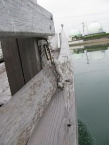 木造船みずき(川の駅二軒茶屋から河崎へ)