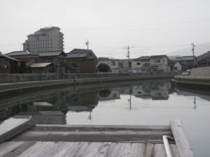 木造船みずき(川の駅 河崎へ)