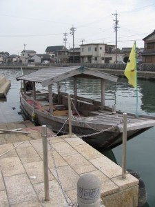 木造船みずき(川の駅 河崎)